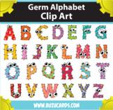 Germs Alphabet Clipart