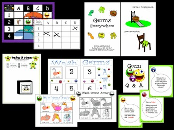 Germs Game and Activities Set