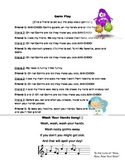 Germs Poem and Hand-washing Song