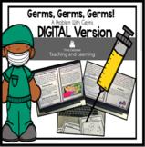 Germs Reader Using Google Slides: Paperless Digital Version