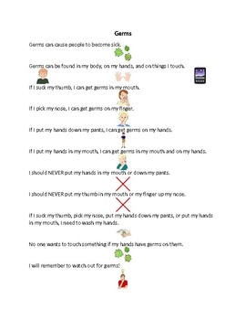 Germs Social Story