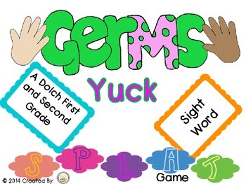 Germs Yuck 1st and 2nd grade Splat