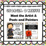 Georgia O'Keeffe - Poetry & Artists Bio Unit- Bundle- DIST