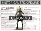 Geronimo Historical Stick Figure (Mini-biography)