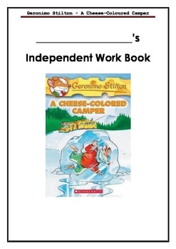 Geronimo Stilton - A Cheese-Colored Camper - Independent or Group Activity Book