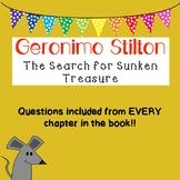 Geronimo Stilton - A Search for Sunken Treasure Comprehens