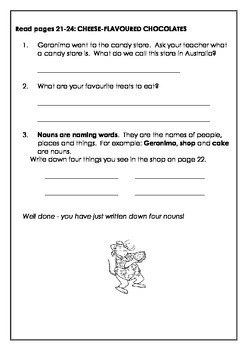 Geronimo Stilton: ALL BECAUSE OF A CUP OF COFFEE - Self Paced Reading Activities