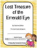 Geronimo Stilton Lost Treasure of the Emerald Eye #1 Novel Study