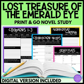 Geronimo Stilton Lost Treasure of the Emerald Eye Novel Study