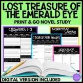 Geronimo Stilton Lost Treasure of the Emerald Eye Novel Study