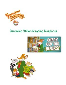 Geronimo Stilton Reading Response!