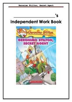 Geronimo Stilton, Secret Agent - A book full of learning activities / NO PREP