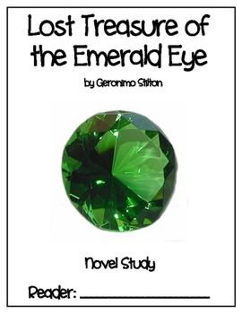 Geronimo Stilton - The Lost Treasure of the Emerald Isle - Novel Study - DRA 34