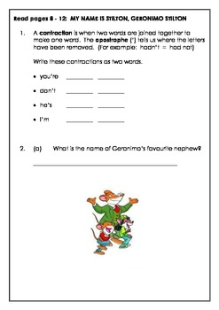 Geronimo Stilton: The Mona Mousa Code - A book full of engaging activities