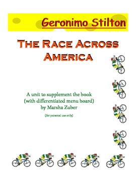 Geronimo Stilton - The Race Across America