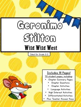 Geronimo Stilton- Wild Wild West: Complete Literature Unit