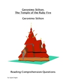 The Temple of Ruby Fire Reading Comprehension Questions