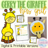 Gerry the Giraffe Has Grit Story, Digital & Printable