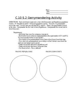 Gerrymandering Activity