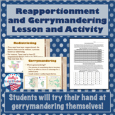 Gerrymandering and Reapportionment- Lecture and Activity