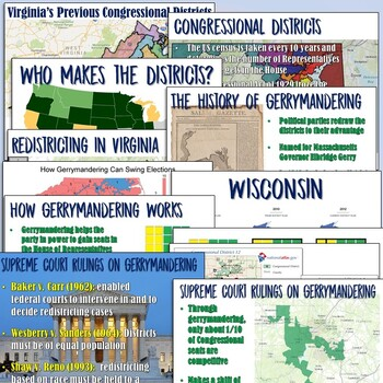 Gerrymandering and Redistricting Lesson Plan