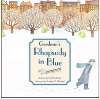 Gershwin Rhapsody in Blue Book Listening Activity for Non-Music Sub