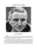 """Gertrude Stein - """"A Sweet Tail (Gypsies)"""""""