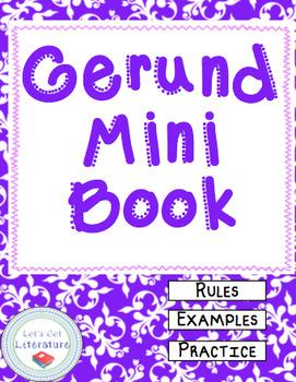 Gerunds Mini Book
