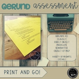 Gerund Assessment