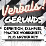 Grammar Verbals Worksheets: GERUNDS