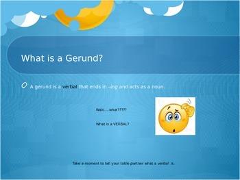 Gerund and Gerund Phrases
