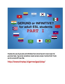 Gerund or Infinitive APP, Part 1