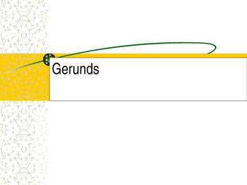 Gerunds PowerPoint