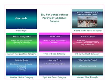 Gerunds PowerPoint Slideshow