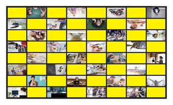 Gerunds Legal Size Photo Checkers Game