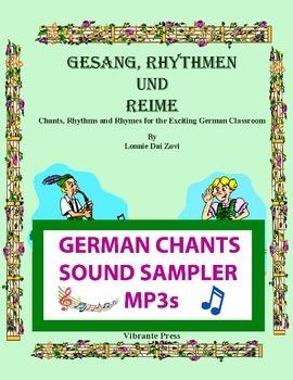 Gesang, Rhythmen und Reime - German Chants    SHORT SAMPLE