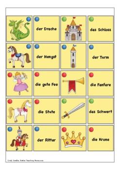 Geschichten aus dem Märchenland - Märchen Mini Lesetexte Deutsch / German DAF