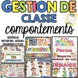 Gestion de classe - COMPORTEMENTS