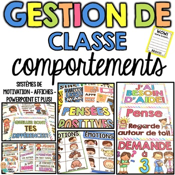 Gestion de classe - COMPORTEMENTS