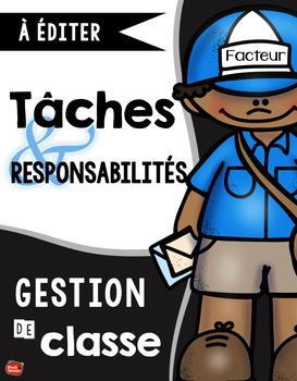 Gestion de classe: Les tâches et responsabilités