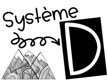 Gestion de classe // Système D: 1er cycle