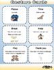 Gestural Communication Flash Cards
