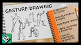 Gesture Drawing Basics: Art Lesson & Project