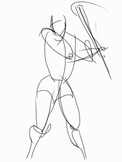 Gesture Drawing Inspired by Rembrandt