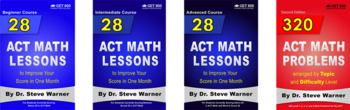 Get 800 ACT Math Full Bundle