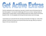 Get Active Extras