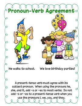 Get Along: Pronoun Verb Agreement