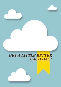 Get Better Each Day - Poster Print