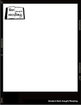 Get Caught Reading Poster Template