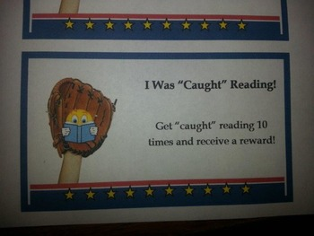 Get Caught Reading Reward Cards